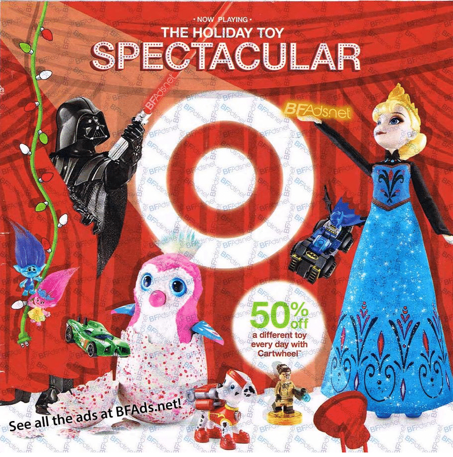 Target Spectacular Toy Book 2016