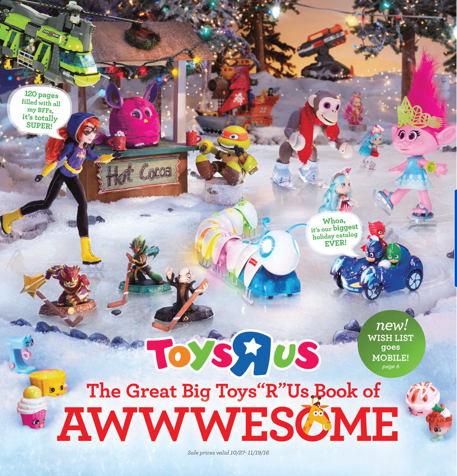 Toys R Us Great Big Book of Awesome 2016