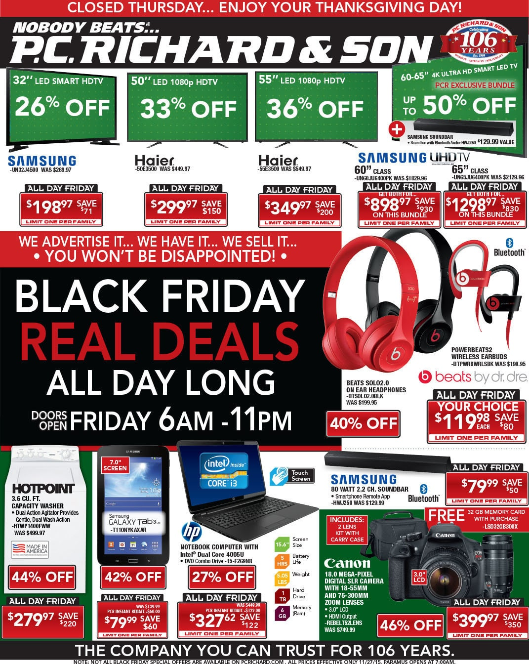 PC Richard Cyber Monday Ad, Sale & Deals Update your home without breaking the bank when you shop PC Richards Cyber Monday sale. Find everything you need for entertainment, like TV deals and discount Bluetooth speakers.3/5(3).