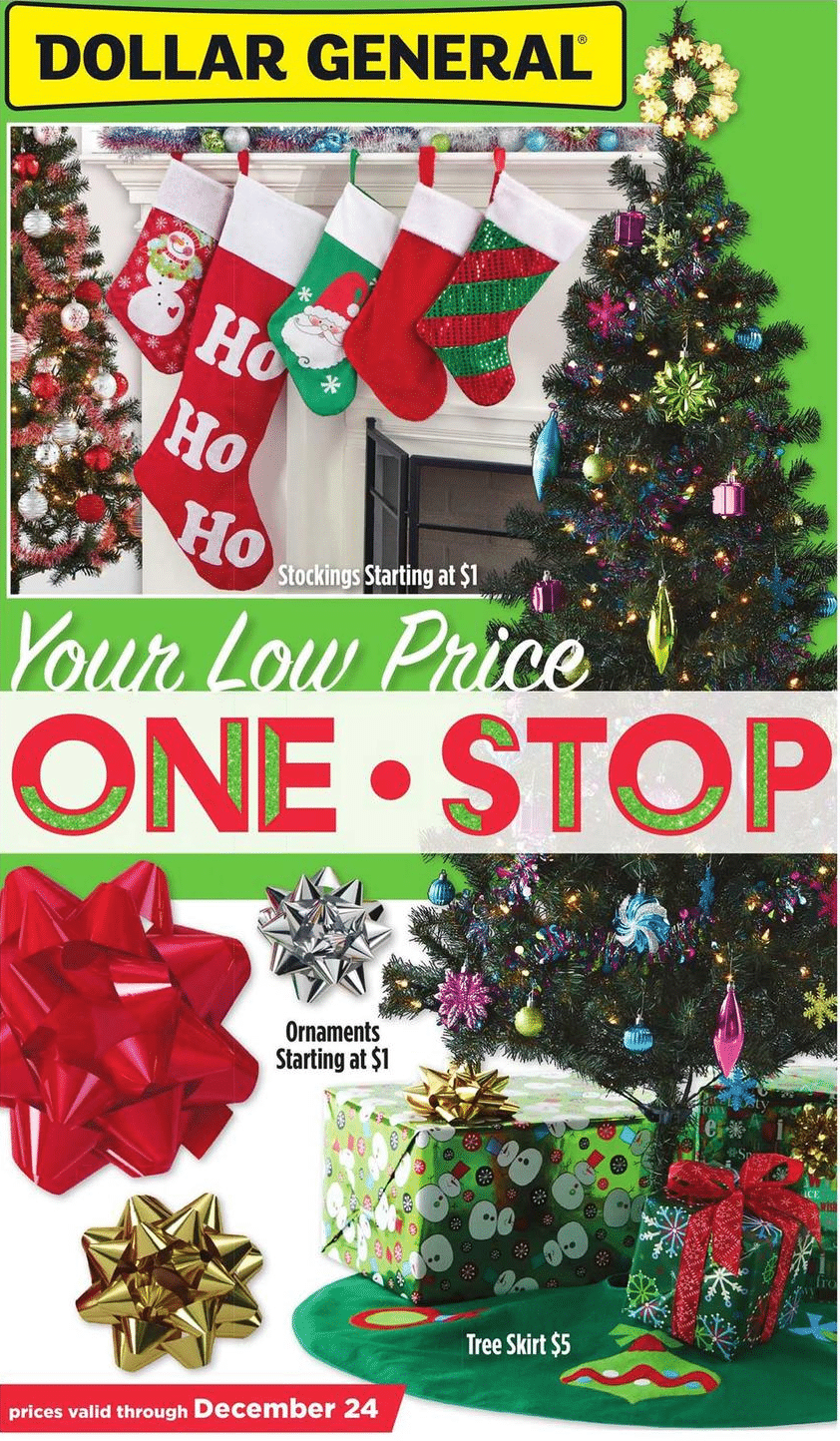 Dollar General Holiday Book 2016