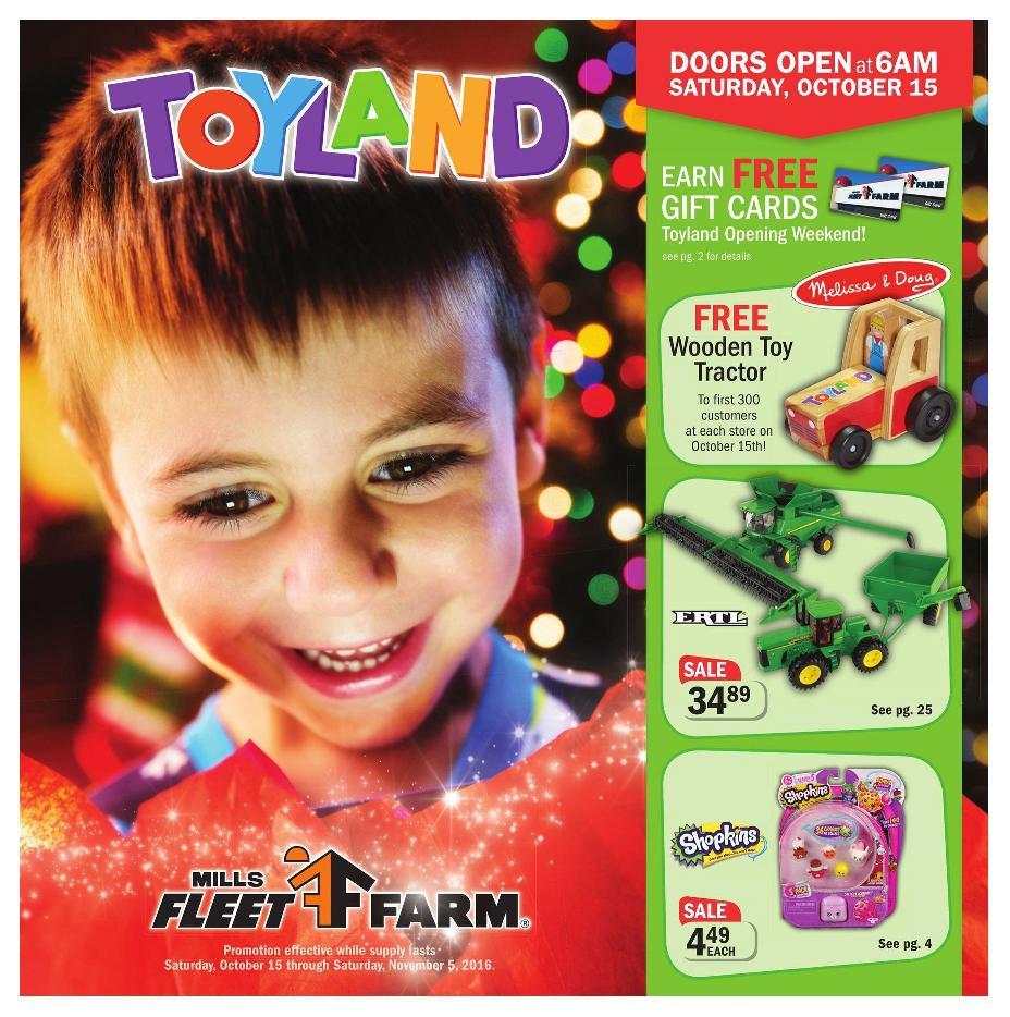 mills fleet farm toy catalog - Fleet Farm Gift Card