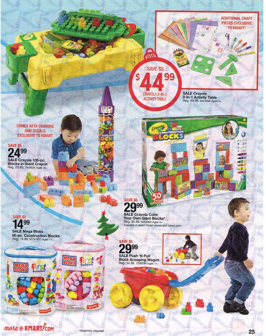 Kmart Holiday Toy Book 2016