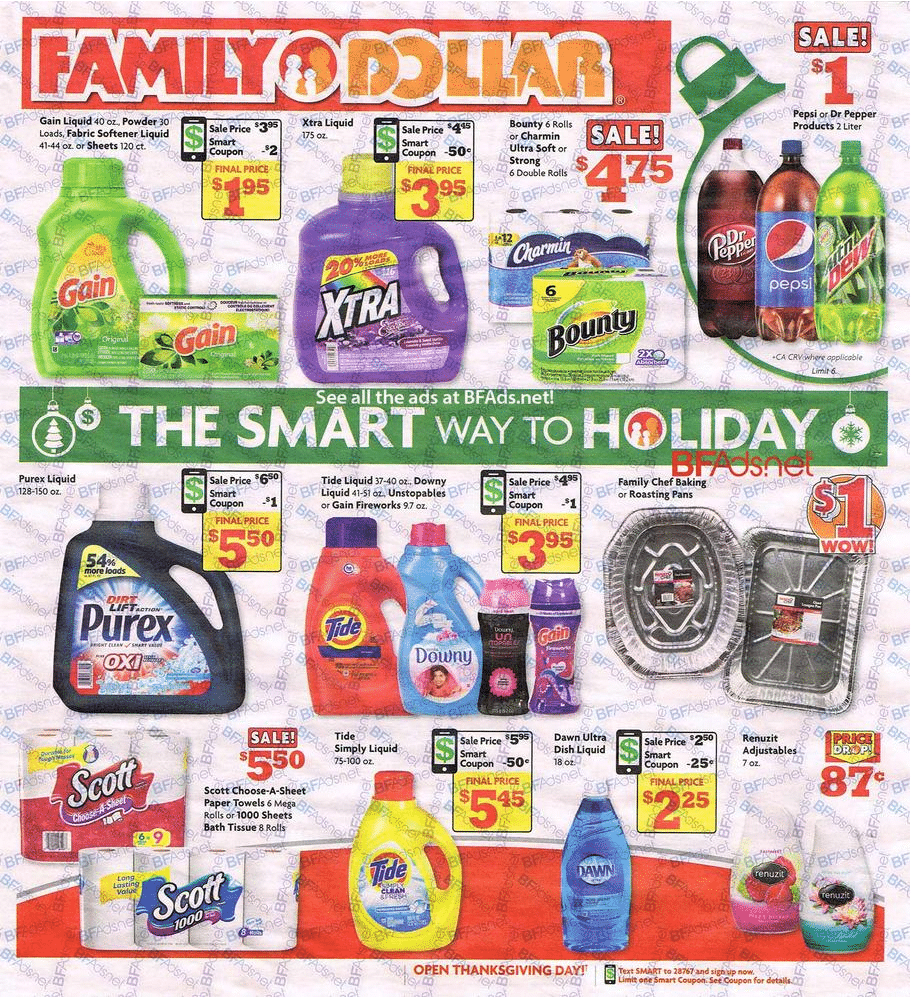 Family Dollar Holiday Book 2016