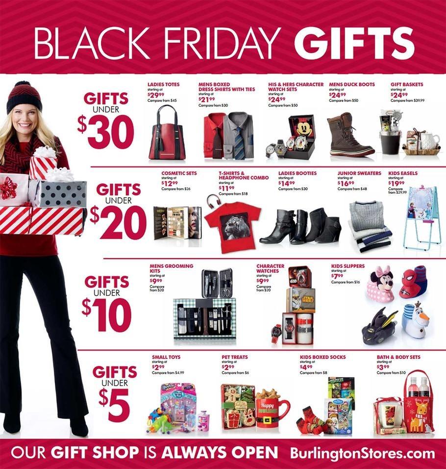 Burlington coat factory black friday deals