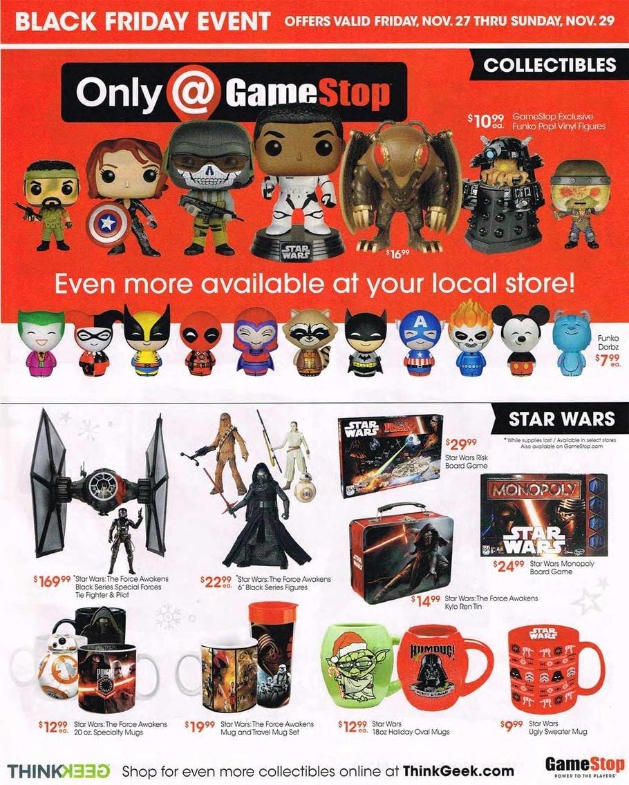 GameStop Black Friday Ad 2015