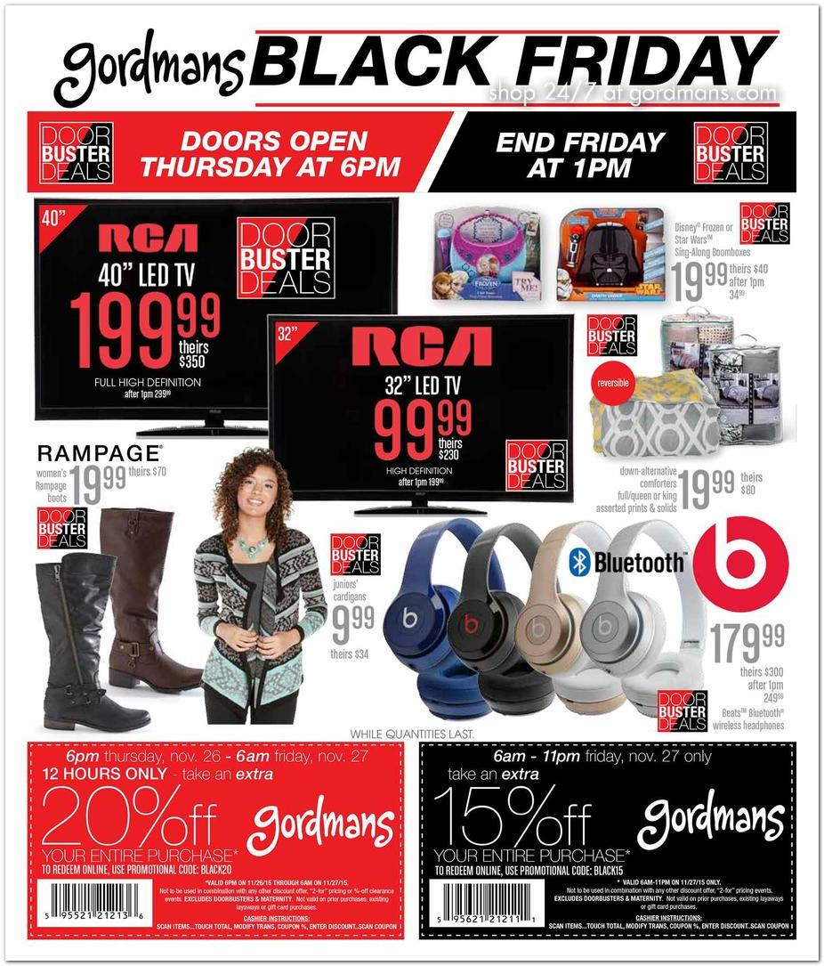 Gordmans Black Friday