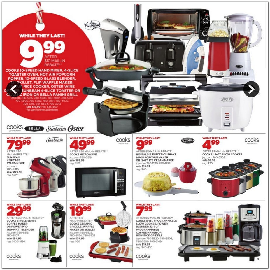 Black friday appliance deals news kohl home appliances for Best home decor black friday deals