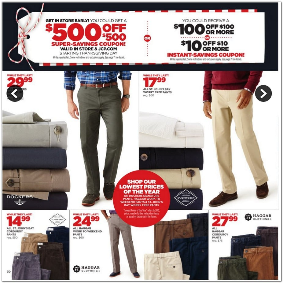 JC Penney Black Friday Ad 2015