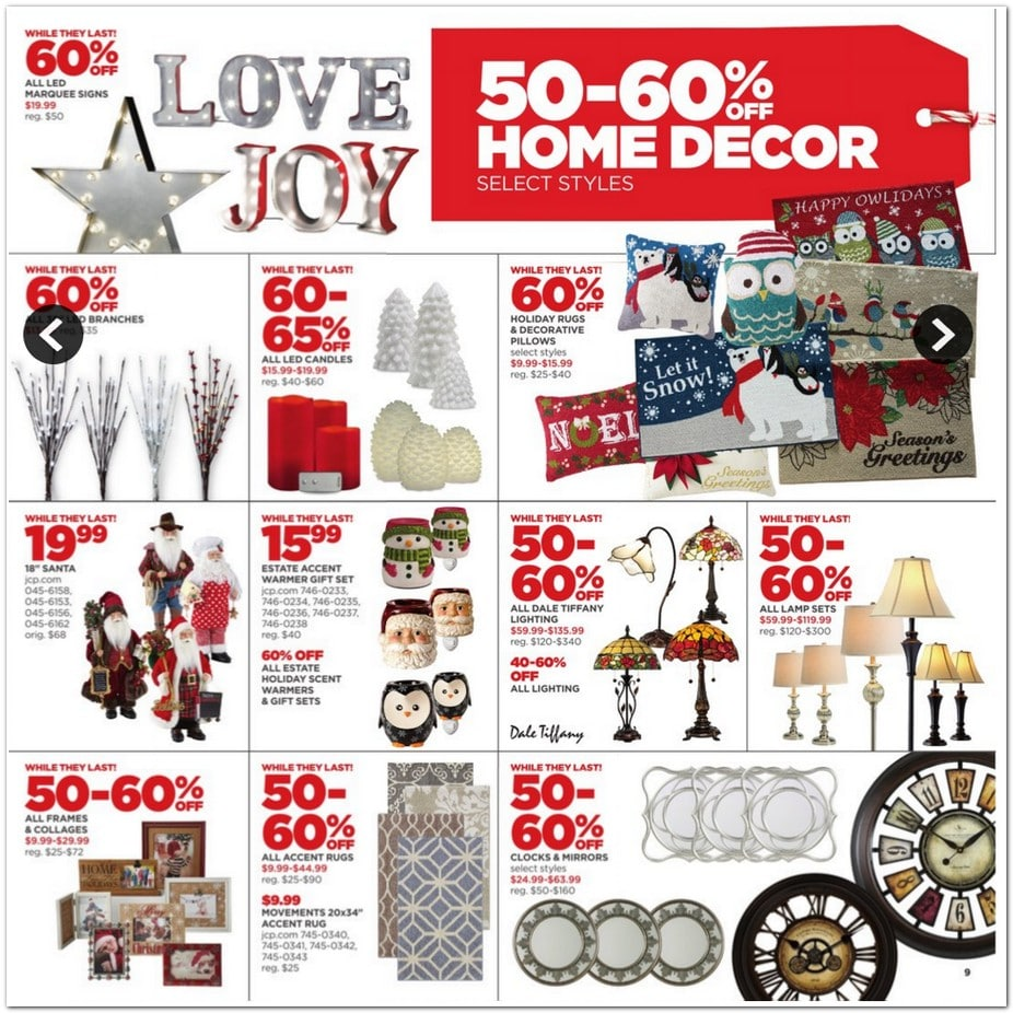 100 Home Decor Black Friday Deals Decor Walmart Com  : JCPenney 2015 9 from mitzissister.com size 926 x 926 jpeg 192kB