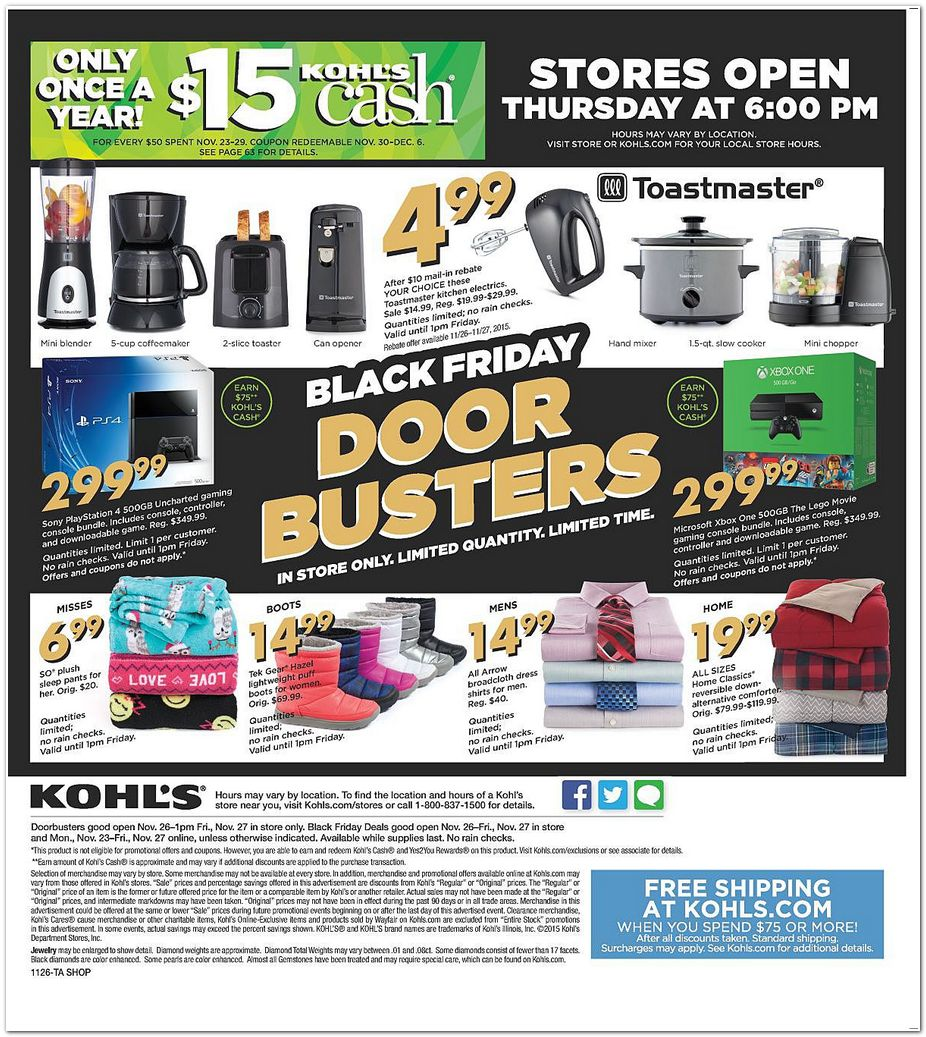 kohls and dillards Here are the store hours below for many major retailers, including what time they open the day after christmas, and below that are some day after christmas sale 2017 deals: day after christmas sale 2017 hours (all times local for your time zone): kohl's stores open 5:00 am to 10:00 pm wal-mart.