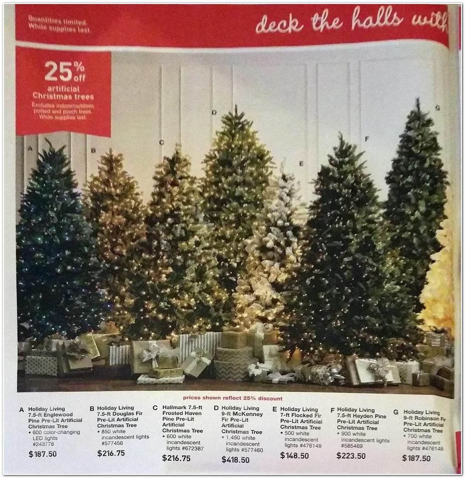 lowes black friday ad 2015 - Black Friday Artificial Christmas Tree Sales