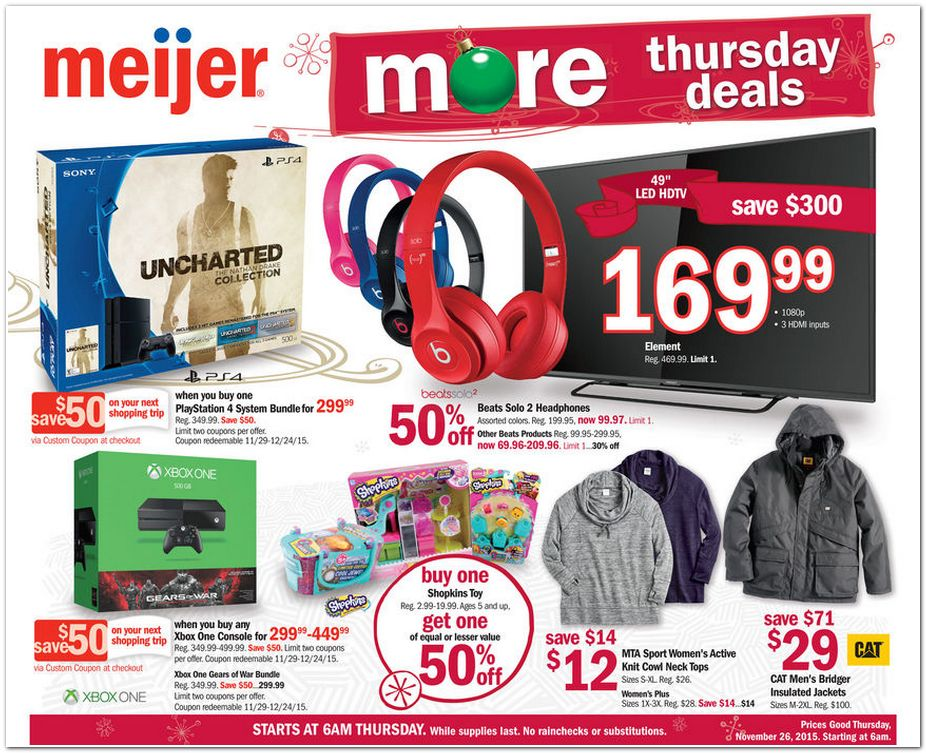1faa7a903466d Meijer Black Friday Ad 2015