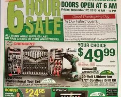 Menards 2015 Black Friday