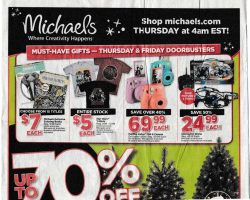 Michaels 2015 Black Friday