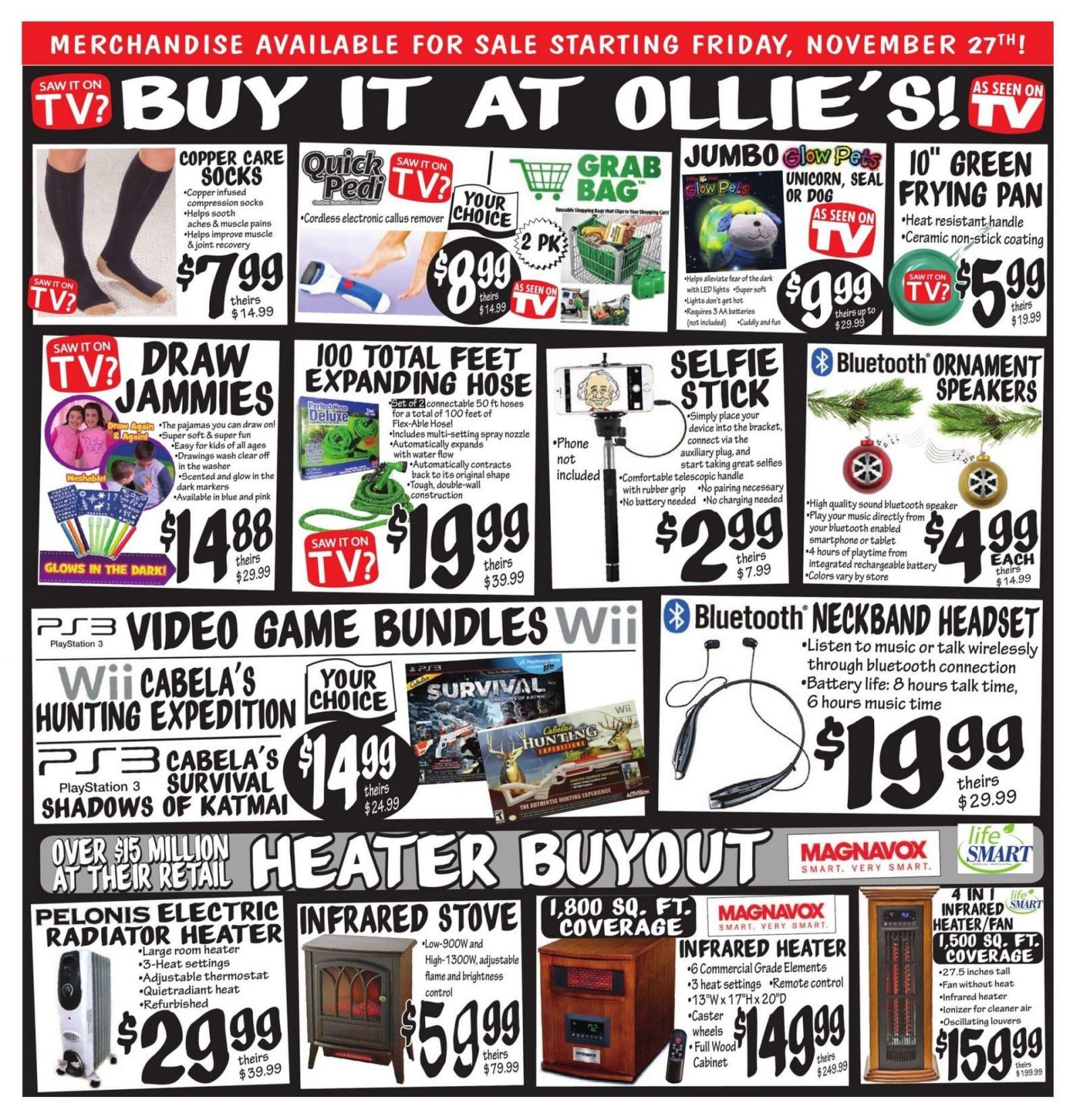 Ollie S Black Friday Ad 2015