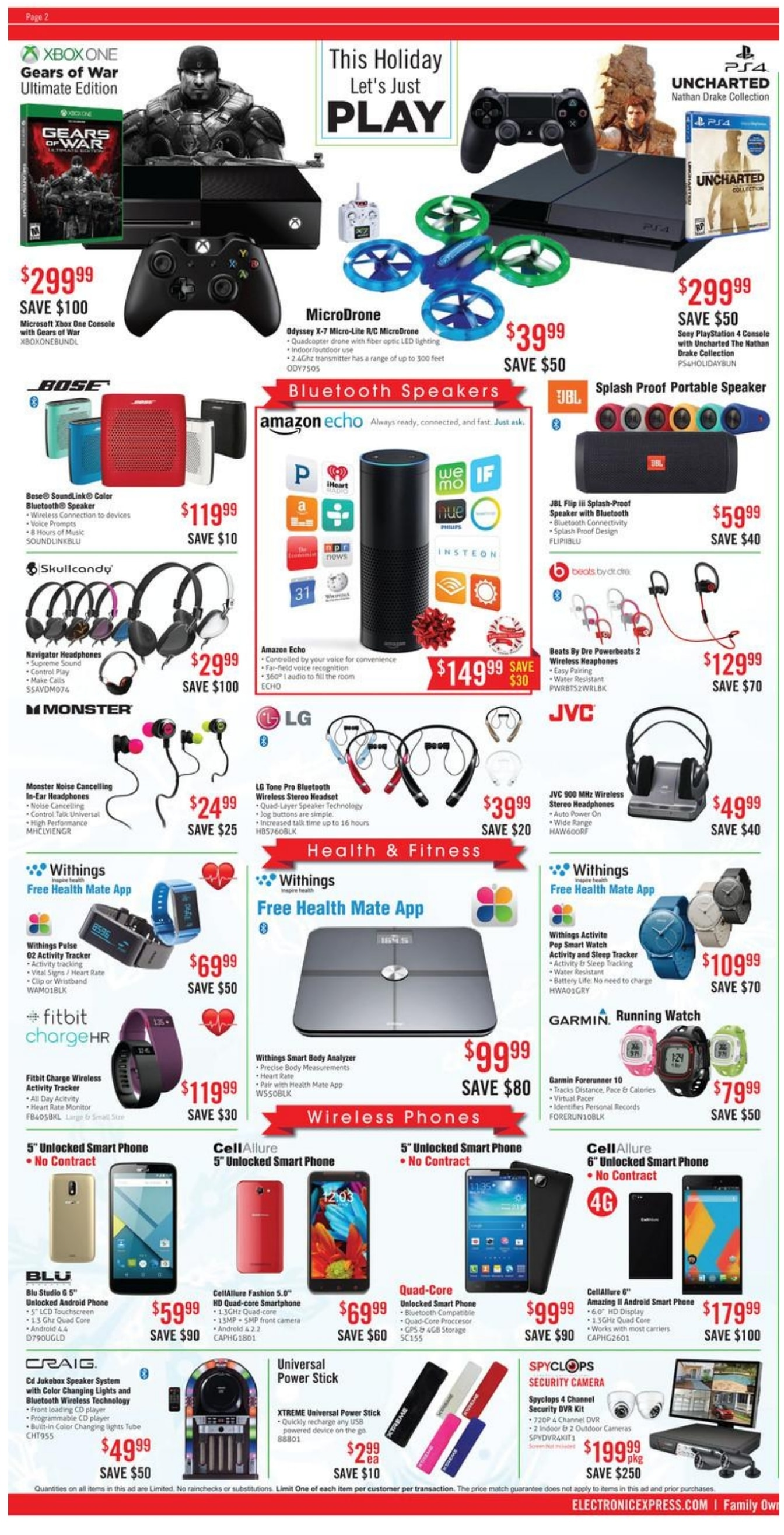 Electronic Express Black Friday Ad 2015