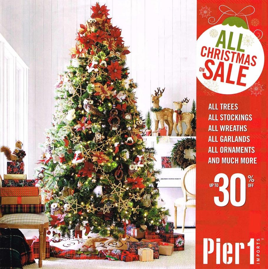 Pier One Christmas Trees.Pier 1 Imports Black Friday Ad 2015