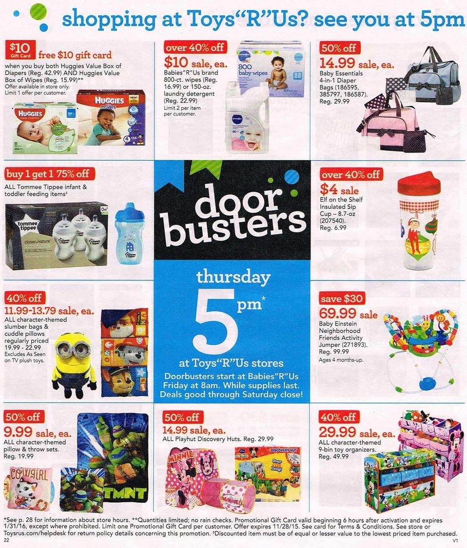 Toys R Us Black Friday Ad - Toys r us black friday store map 2016