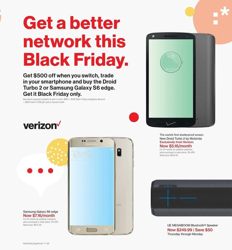 Verizon Black Friday Ad 2015