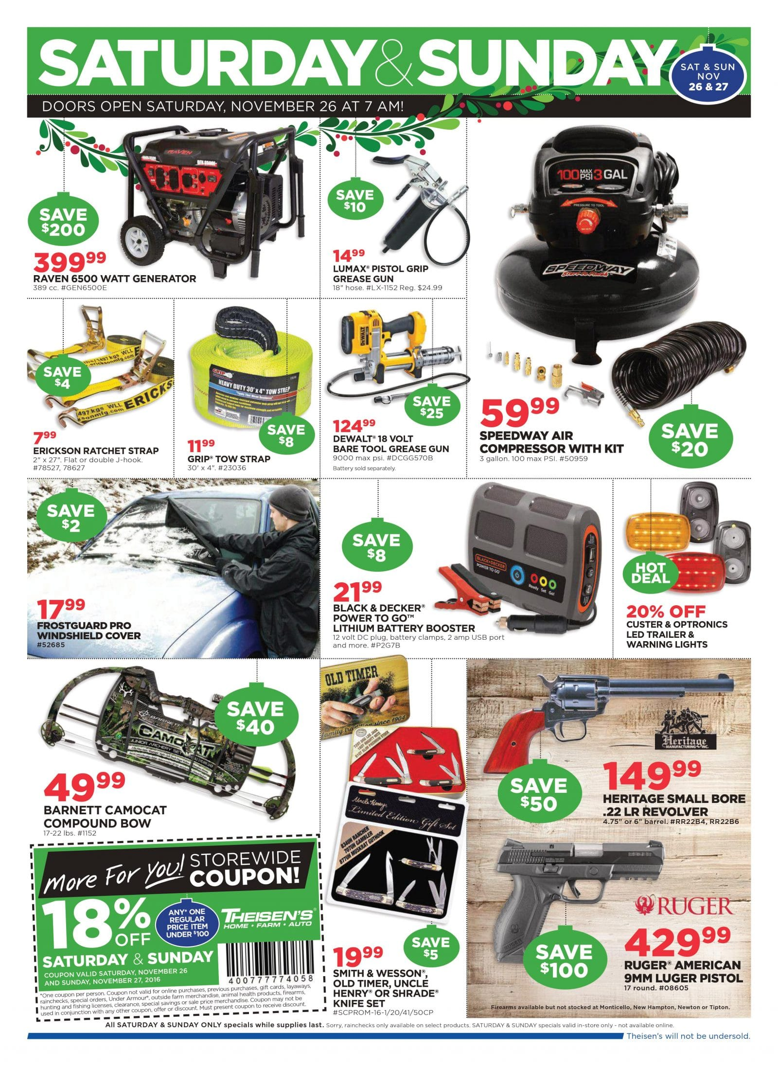 Theisen's Black Friday Ad 2016Lowe's Black Friday