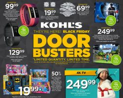Kohl's Black Friday Ad 2016