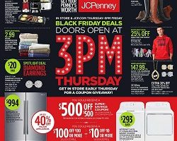 JCPenney 2016 Black Friday
