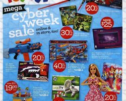 Toys R Us Cyber Monday 2016 Ad