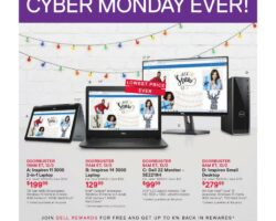 Dell Cyber Monday 2019 Ad