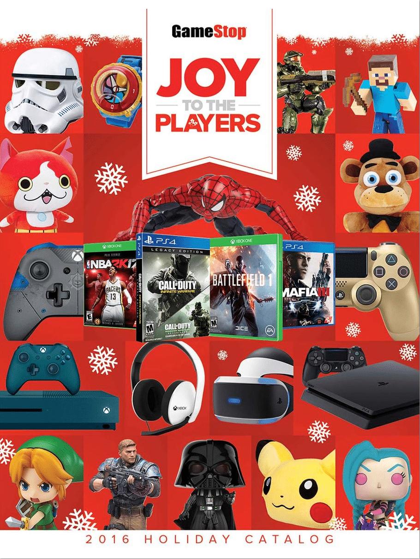 GameStop Holiday Book 2016