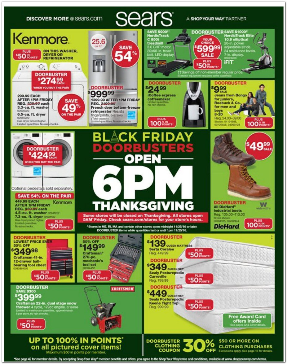 Sears Black Friday Shoes