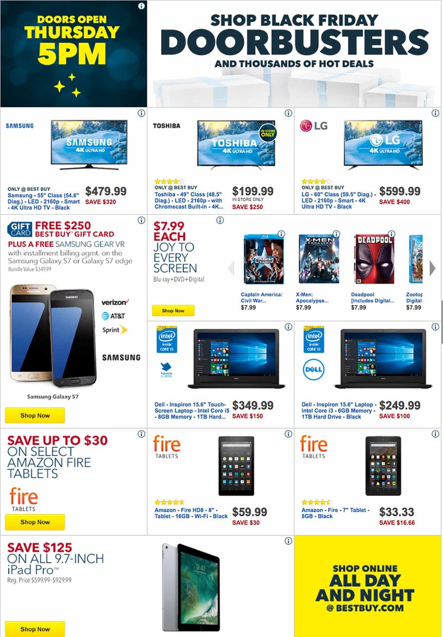 best buy 2016 black friday ad - Is Best Buy Open Christmas Day