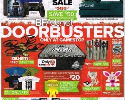 GameStop 2016 Black Friday Ad