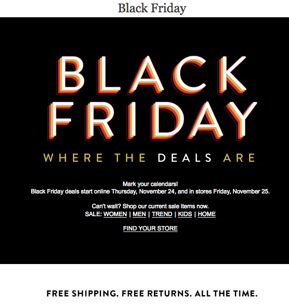 Nordstrom Black Friday Ad 2016