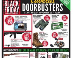 Cabela's 2016 Black Friday Ad