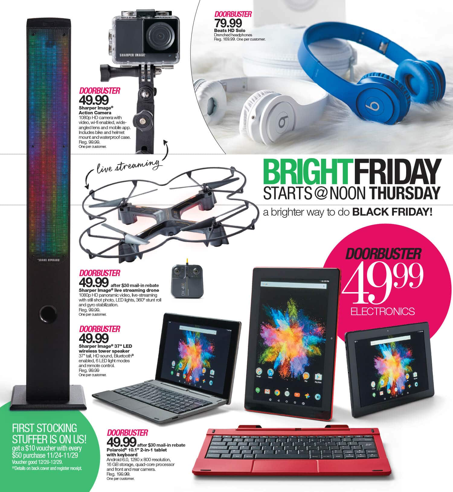 Stage Black Friday Ad 2016