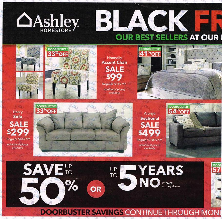 End Year Sale Ashley Furniture: Ashley Furniture Black Friday Ad 2016