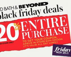 Bed Bath & Beyond 2016 Black Friday Ad