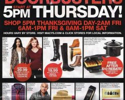 Macy's Black Friday Ad 2016