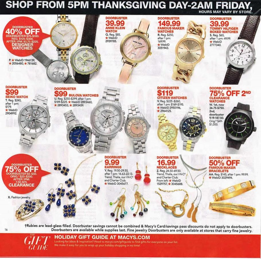 Macy S Black Friday Ad 2016