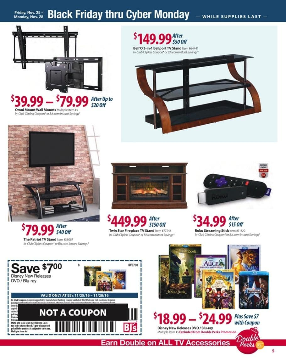 bj u0027s black friday ad 2016