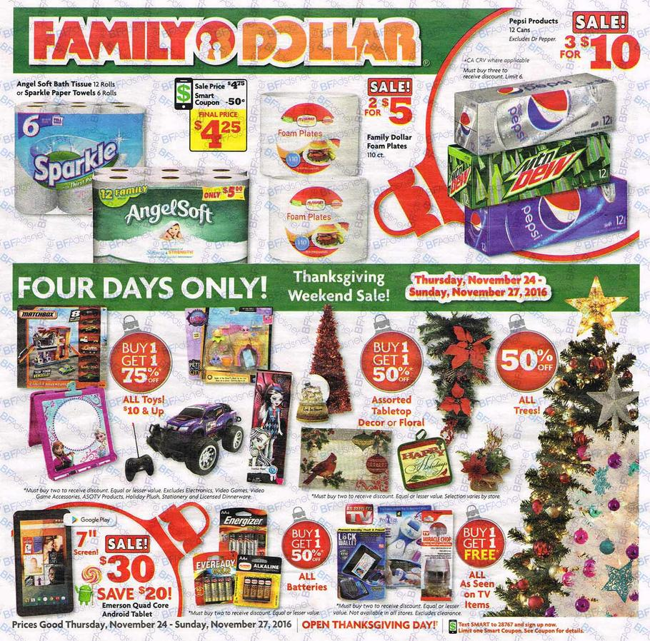 photo about Family Dollar Printable Application known as Loved ones Greenback Black Friday Advert 2016