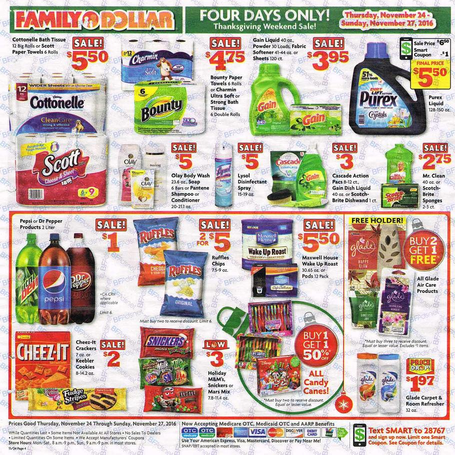 Family Dollar Black Friday Ad 2016