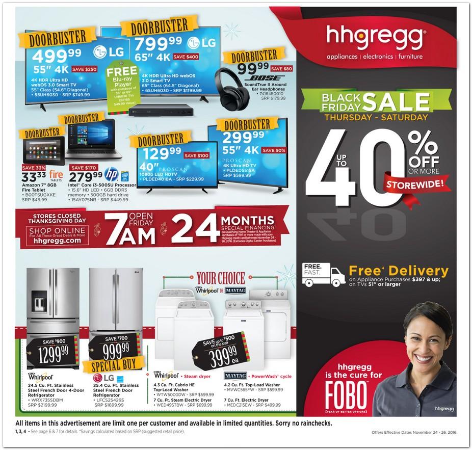Hh Gregg Black Friday Ad 2016
