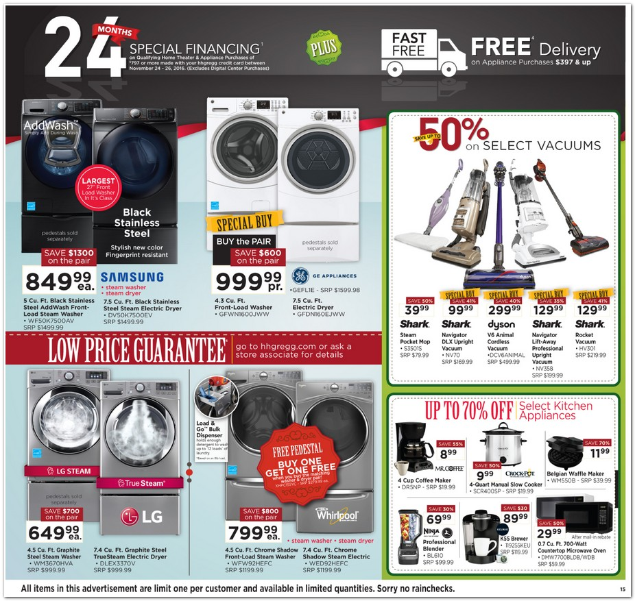 Hh Gregg Black Friday Ad 2016
