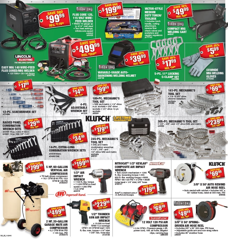 Northern Tool Black Friday Ad 2016