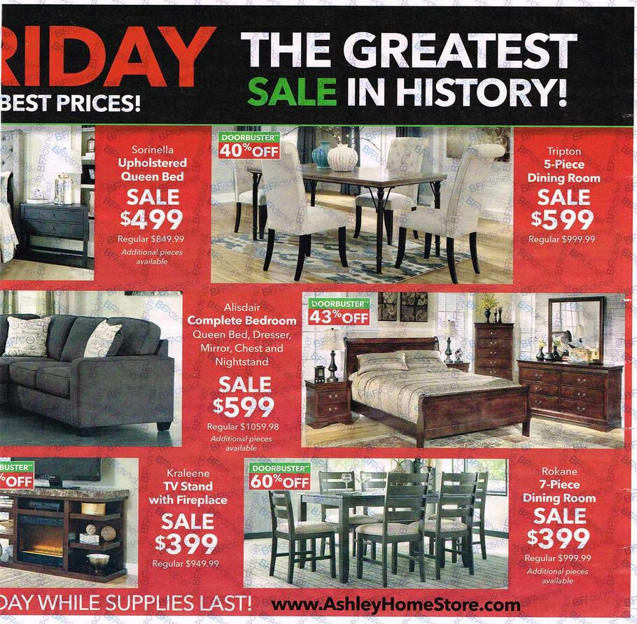 Furniture Store Ads: Ashley Furniture Black Friday Ad 2016
