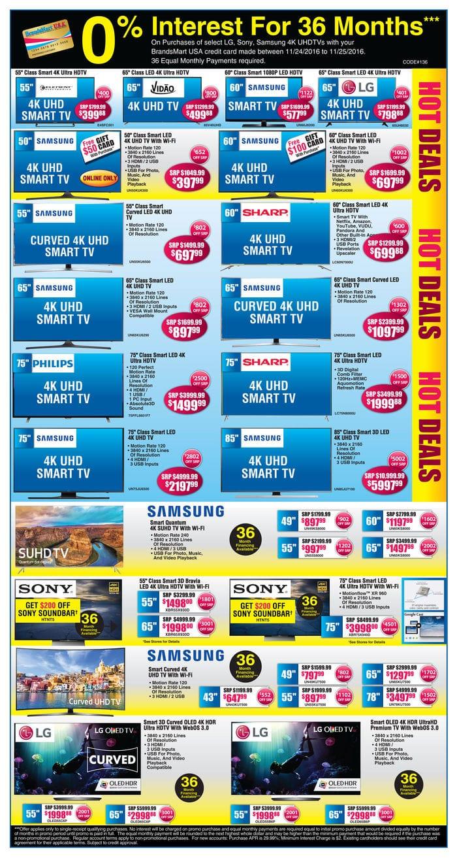 Uhd tv deals thanksgiving