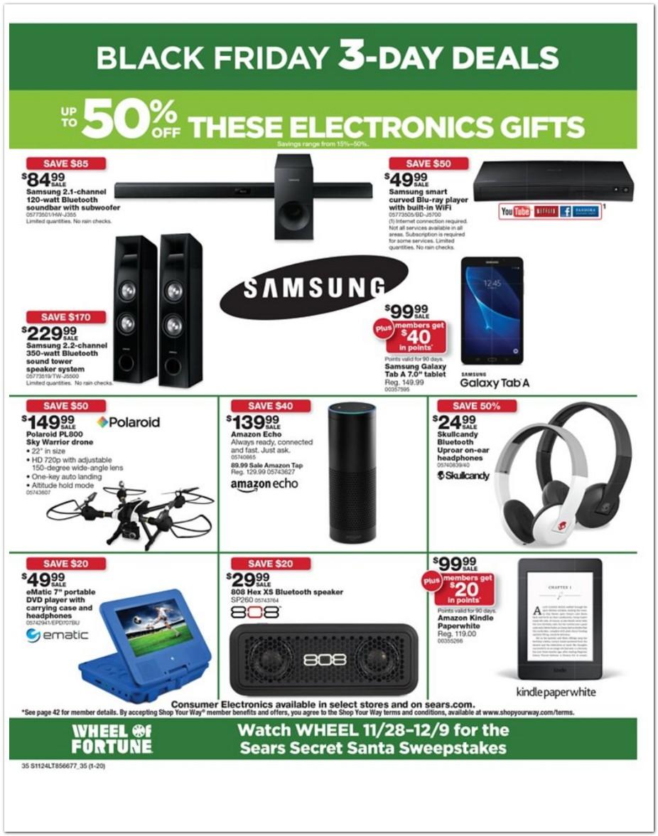 Sears Black Friday Ad 2016