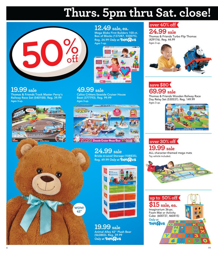 Go Smart Wheels Ultimate Rc Sdway Find Some Exclusives In This Year S Toys R Us Black Friday Ad And Save Up To 70 On Plush Toys And More