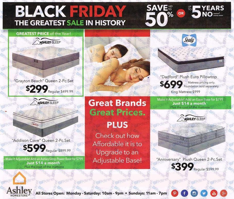 Ashley Home Furniture Ad: Ashley Furniture Black Friday Ad 2016
